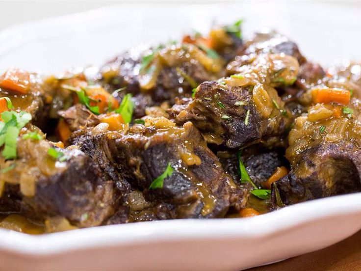 These slow-cooker braised short ribs will fall right off the bone