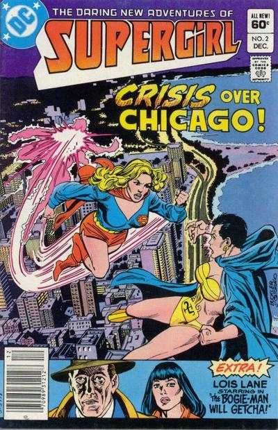supergirl comic book covers   Daring New Adventures of Supergirl #2 comic books for sale