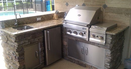 Premier Outdoor Kitchens Tampa New Pool And Lanai