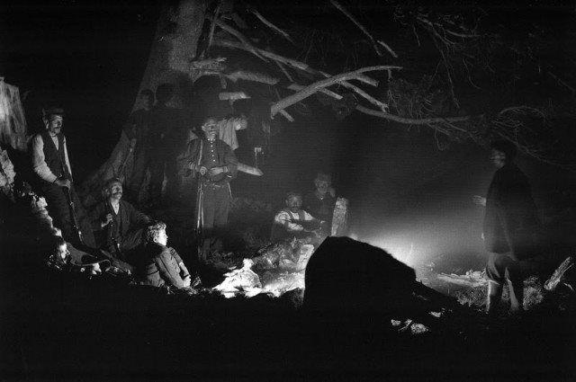 Κτηνοτρόφοι σε νυχτερινό  καταυλισμό στον Όλυμπο (1914)