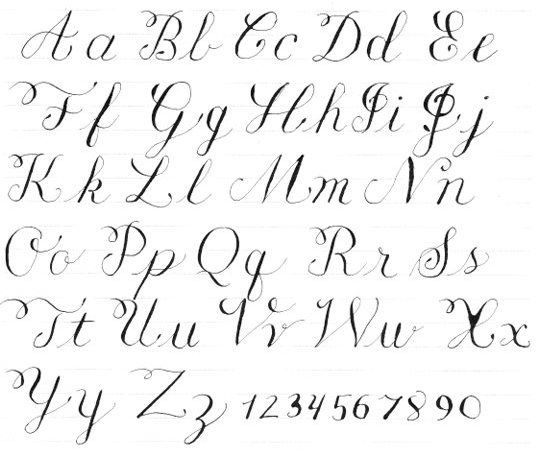 Practice Strokes For Brush Lettering Google Search
