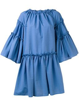 прозрачное многослойное платье