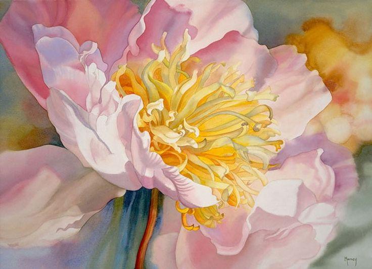 All You Need Is Love - Marney Ward: цветы акварелью...