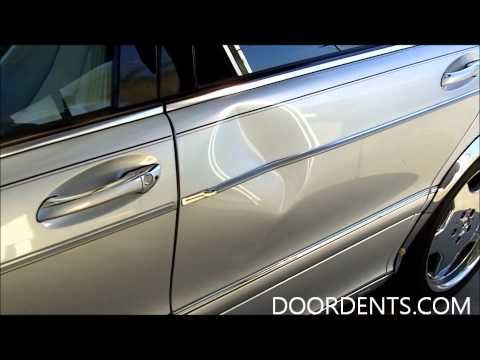 Car Dent Removal with Hair Dryer and Compressed Air - YouTube