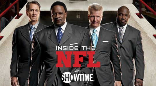 Inside The NFL is just that: The inside story of the the manliest league and the manliest team sport in the history of athletics. It's a must watch even if you're just a casual NFL fan and a definite must watch if, like me, you spend way too much time orchestrating and fine tuning the machinations of your fantasy teams.