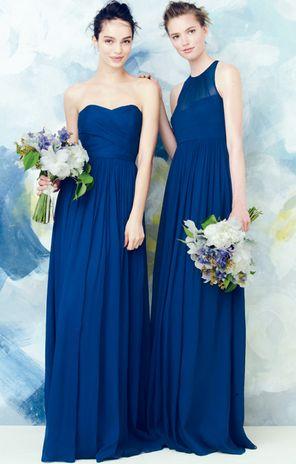 Navy Blue Bridesmaid Dresses J Crew