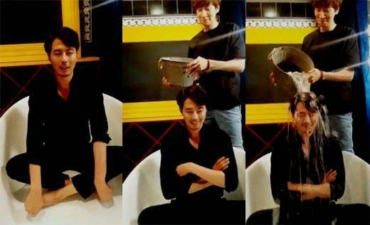 'It's Ok, That's Love' Jo In-sung takes on the #IceBucketChallenge, nominates Lee Kwang Soo, and others