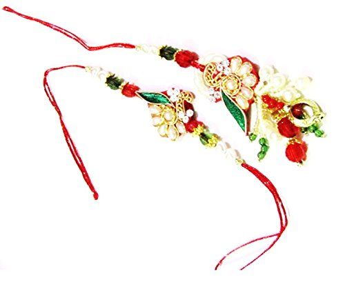 #Nky #Rakhi #Multicolor #Silk Thread #Rakhi