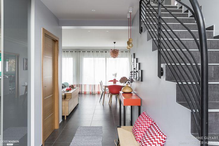 Une entrée familiale qui donne le ton, Delphine Guyart - Côté Maison