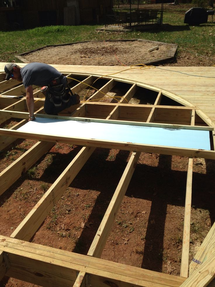 Yurt Deck Floor Insulation How To Build A Yurt Pinterest