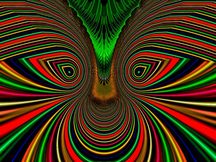trippy face psychedelic illusions illusion optical smiley fractal faces neon acid maze graphic op pretty drawing s699 photobucket mushroom artwork