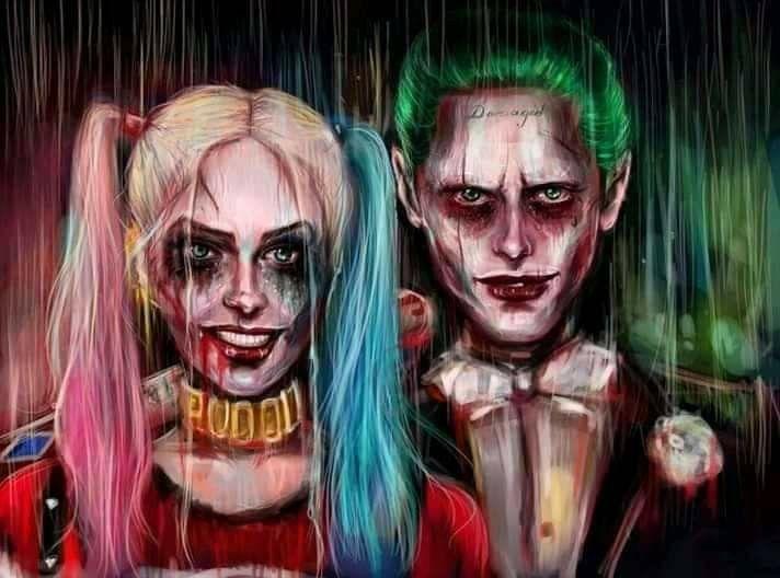 Pin On The Joker Harley Quinn