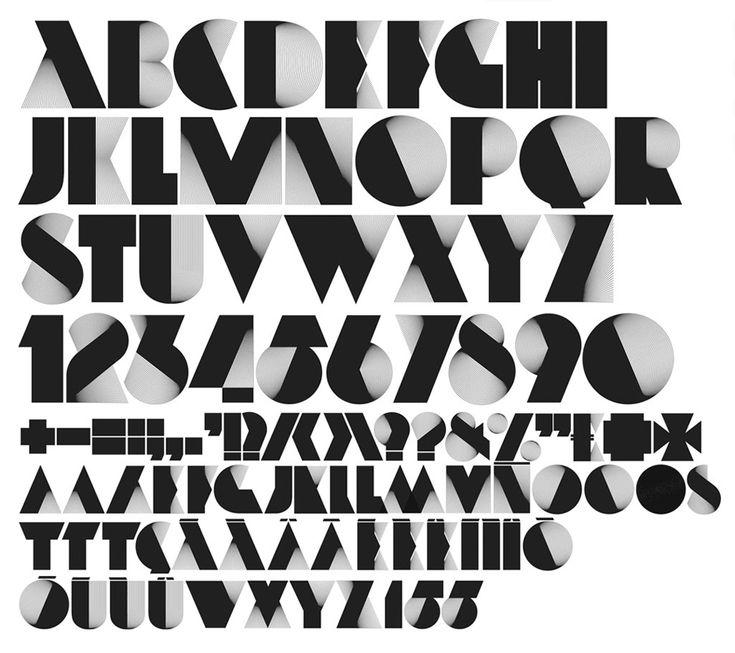 25+ best Deco font ideas on Pinterest   Typography alphabet, Fonts ...