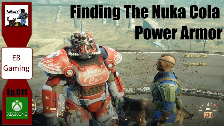 Fallout 4 Modded Lets Play: Xbox one: Ep.011: Finding the Nuka Cola Power Armor