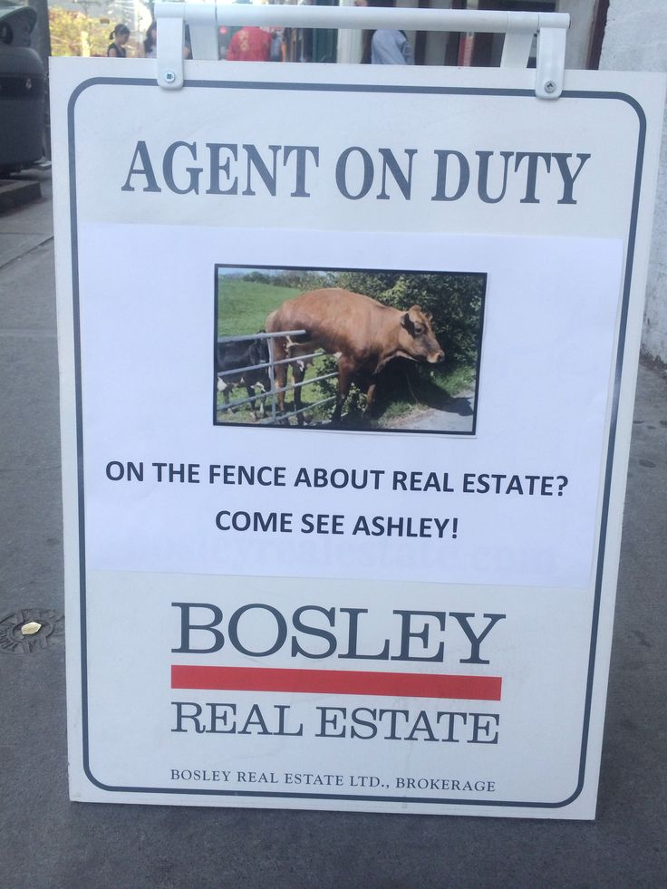 More proof that Bosley RE agents think more creatively.