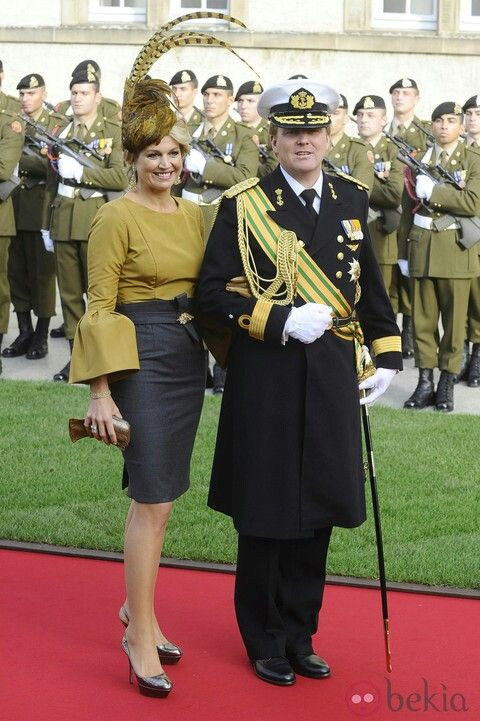 Netherlands. Love Maxima's outfit.