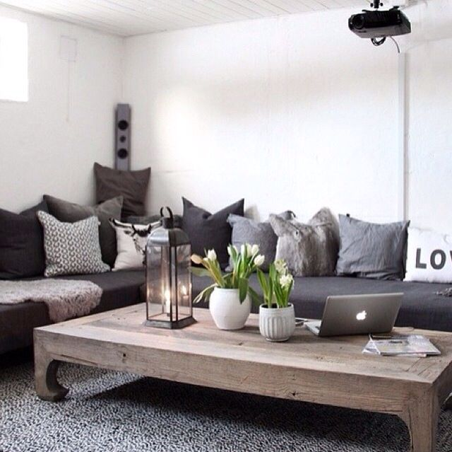 Grey interior...the walls need something but love the gray