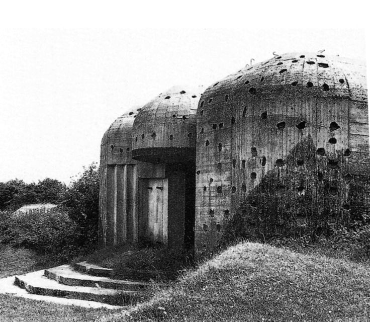 Paul Virilio, Bunker Archeology, Buildings Photographed 1958-1965, Buildings Constructed 1942-1944