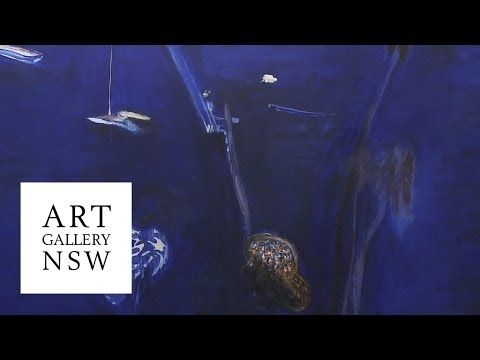 Wendy Whiteley on the life and work of Brett Whiteley - YouTube
