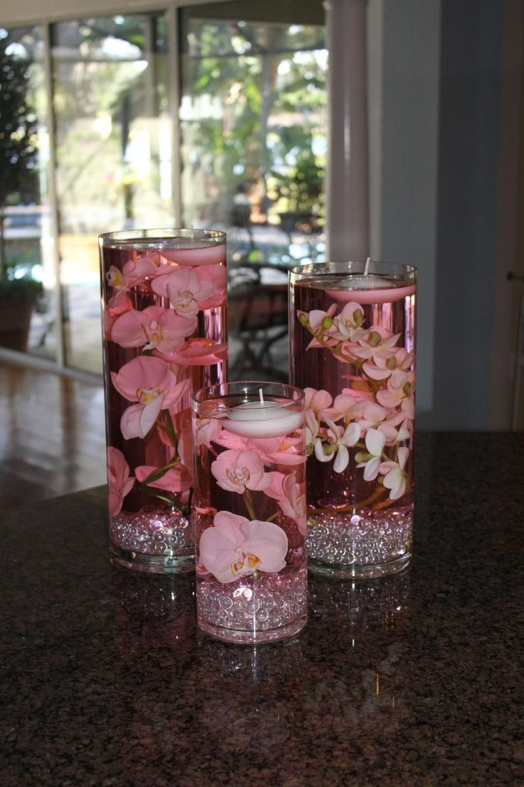 25 best water center pieces images on pinterest