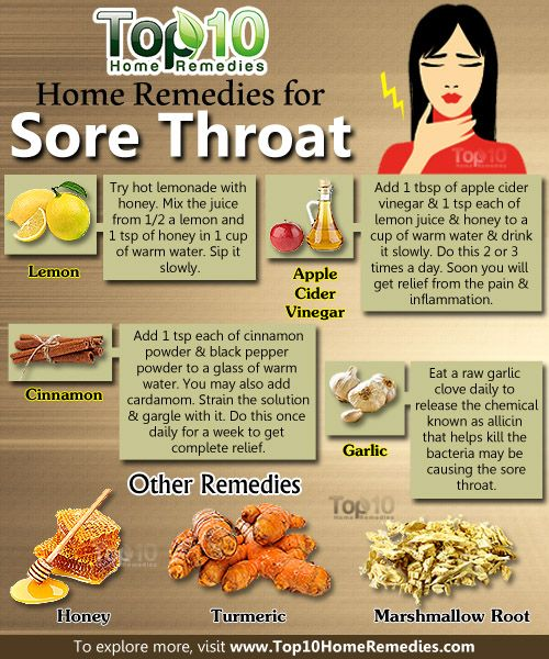 Home Remedies For Sore Throat With Lemon