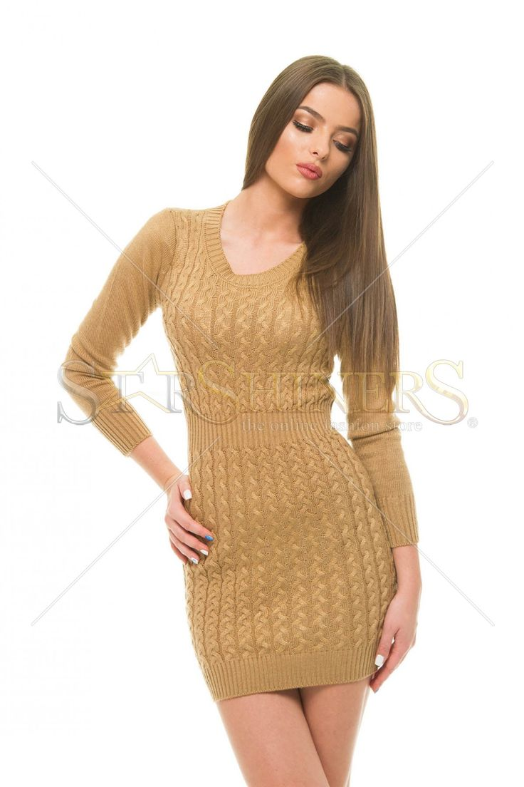 Rochie Classic Perfection Brown