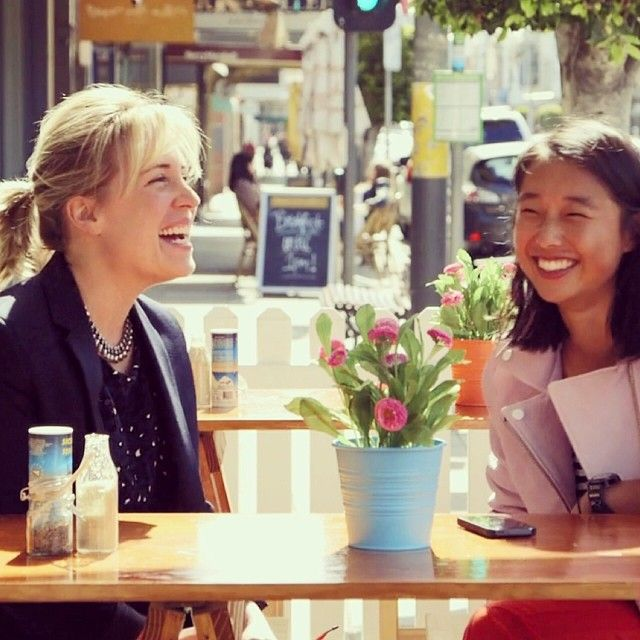 @Margaret Zhang meets up with the wonderful woman behind @skinandthreads in #melbourne