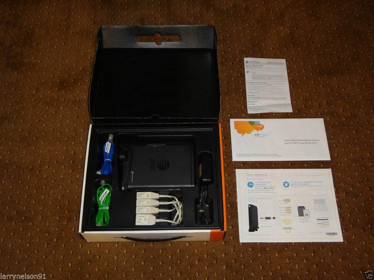 AT&T DSL MODEM + ROUTER WIRELESS GATEWAY NVG510 HIGH SPEED INTERNET ORIGINAL BOX