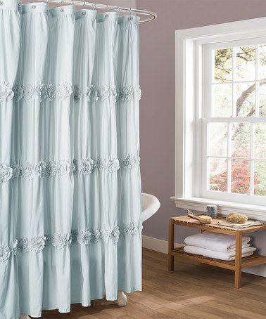 Look what I found on #zulily! Spa Blue Darla Shower Curtain #zulilyfinds