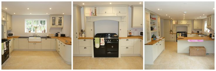 BA Components Matt Mussel Tullymore Traditional Kitchen