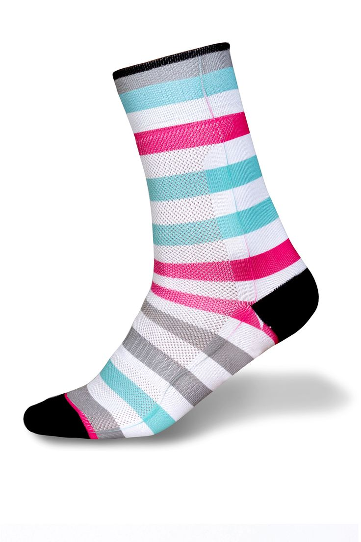 Calcetines ciclismo sublimado mujer Colorfull | Taymory