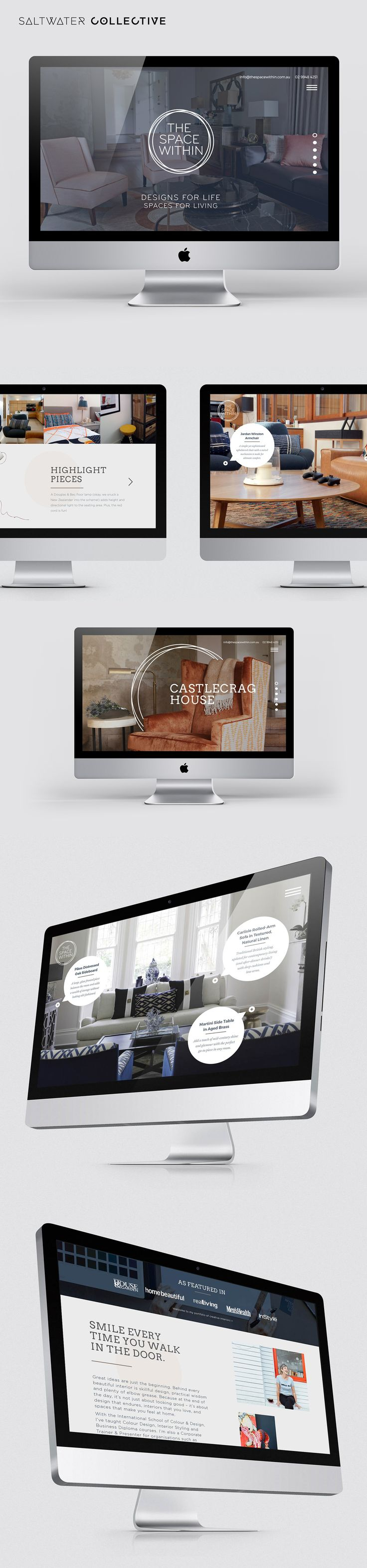 New website design and build for The Space Within
