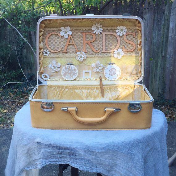 Wedding Card Box Trunk  Ceremony by WeddingGalleryDesign on Etsy