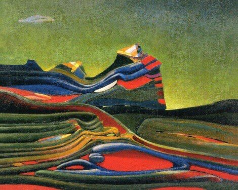 Max Ernst -Terre écossaise,1935