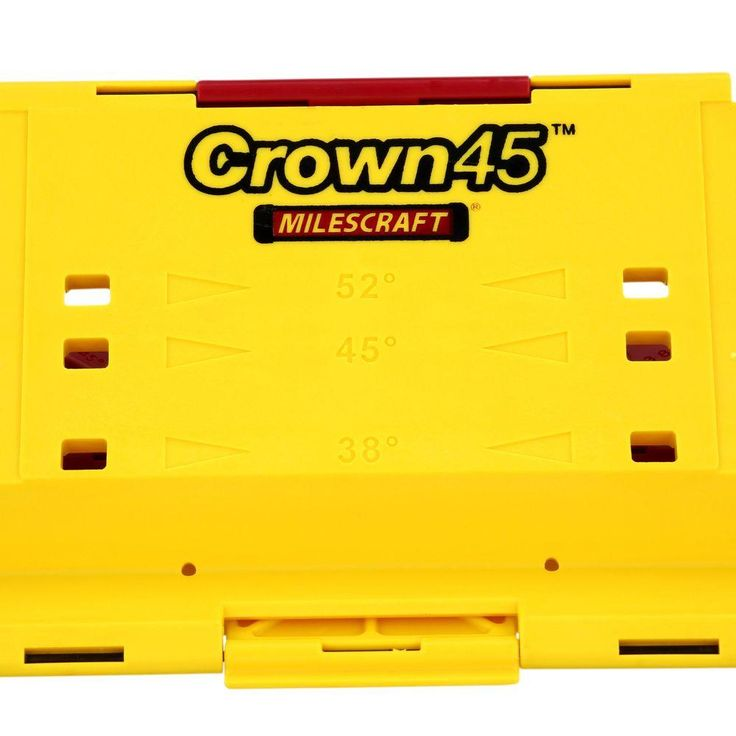 Milescraft crown45 crown molding jig for miter saws1405