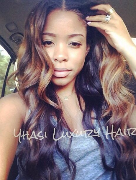 Do you want to get the same beautiful hair? Premium quality ombre hair weave extensions.  shop online: http://www.belacahair.com/ombre-hair.html/ Email: belacahair@yahoo.com Skype: belaca-hair WhatsApp: 008613247531950