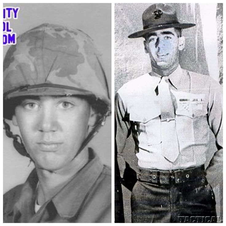 R. Lee Ermey spent 11 years in the Marines-Vietnam in 1968 for 14 months-staff Sergeant and medically retired for injuries received. The first Marine to ever be promoted after retirement.   He is an actor and advisor on many movies.