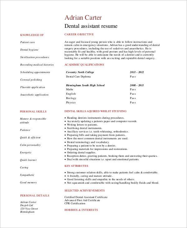 Pin By Veronica Casimiro On Jbuh Resume Examples Simple Resume Examples Job Resume Samples