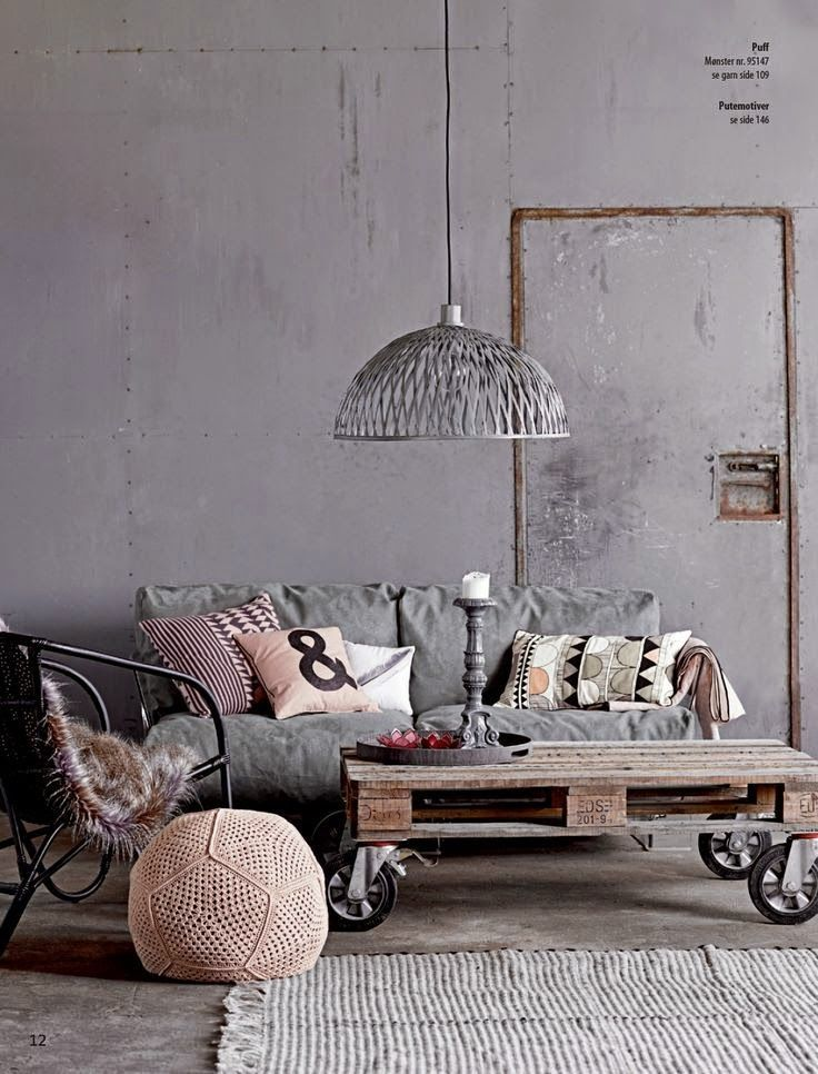 Paul&Paula blog: dream room - pastel grey industrial interior - industrieel interieur - http://www.pauletpaula.com/category/friday-list/