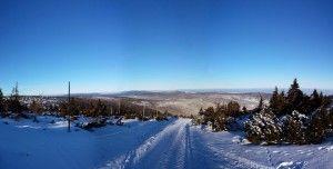 Panorama z okolic Hali Szrenickiej