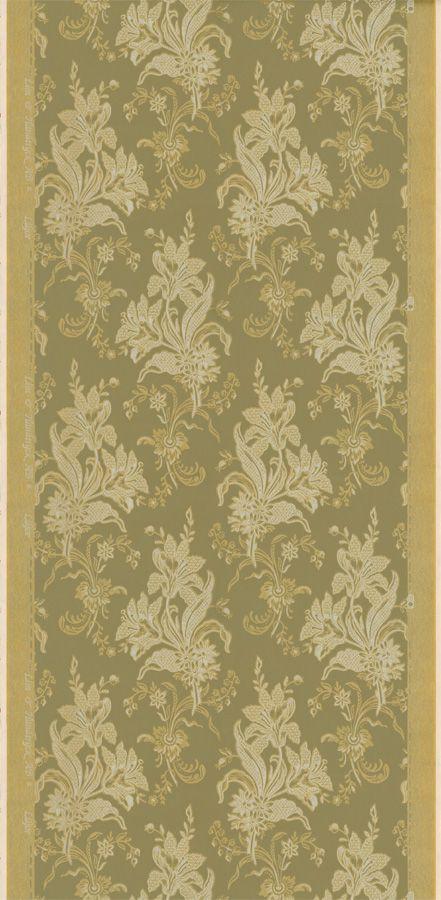 Liljor Grön/Guld från Lim & Handtryck