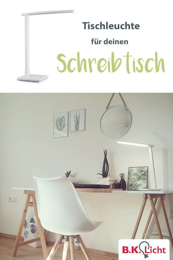 LED Tischlampe Schreibtischleuchte Bürolampe Dimmbar Touch Leselampe Design NEU