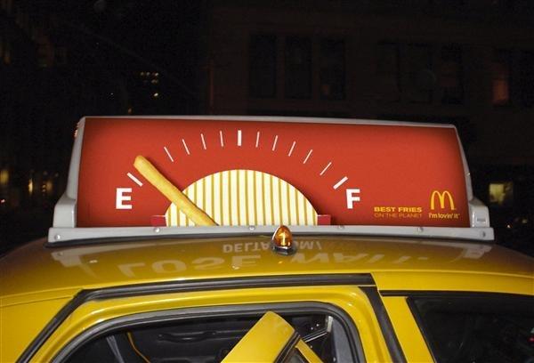 #McDonalds #OOH #Gold #OBIE