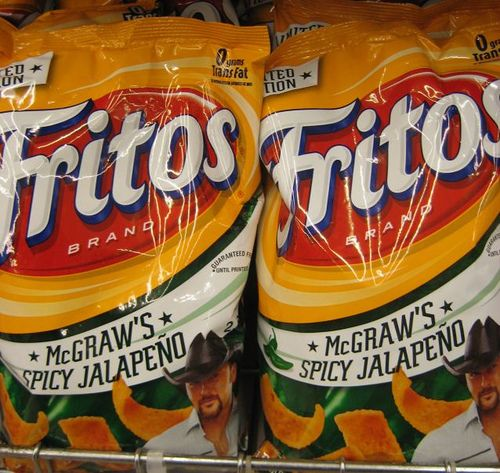 McGraw's Spicy Jalapeno Fritos....sooo effin good