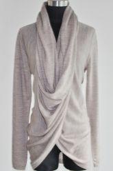 Gorgeous grey wrap cardigan style