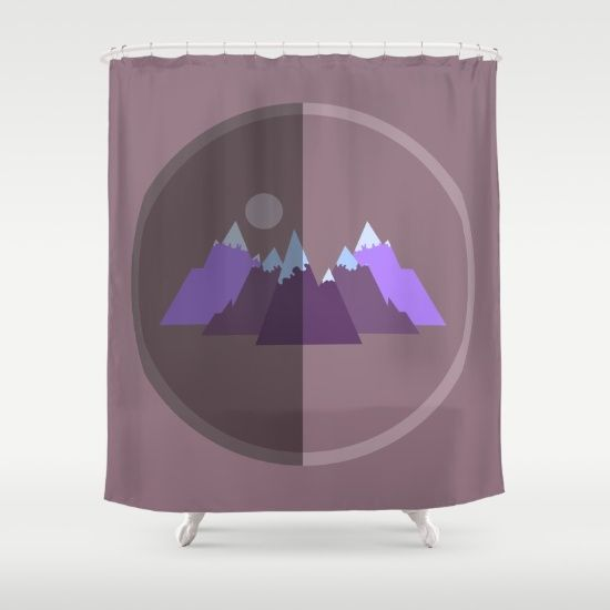 Buy Shower Curtains featuring Winter Feeling by Mindssgreen. Made from 100% easy care polyester our designer shower curtains are printed in the USA and feature a 12 button-hole top for simple hanging.