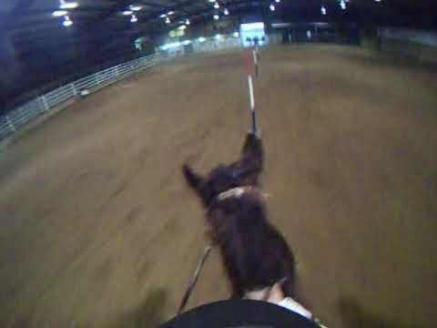 RPM Barrel Racing | Pole Bending Headcam ... really cool perspective to see it from, with a pretty good time might I add
