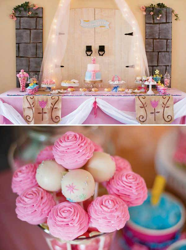 Magical Sleeping Beauty Party {Princess Birthday} pinning this as an idea for baby girl when she's older :)