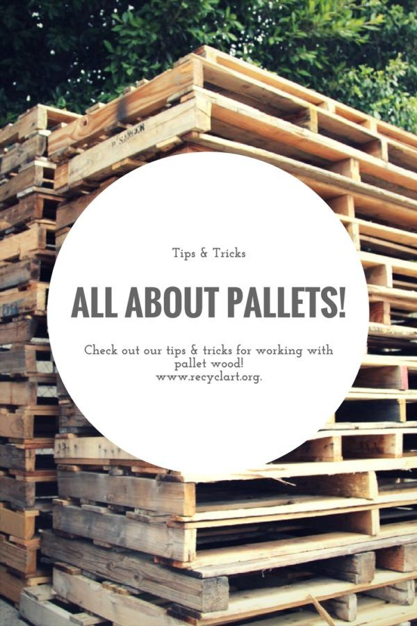 For all the pallet lovers like myself, here's an article all about up-cycle and reuse pallets as a creative material! Lots of tips on where to find pallets, what to look for when you select pallets, how to work with…