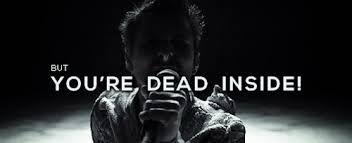 """Muse - Dead Inside If you ever say """"dead inside"""" in front of me, i will start seeing this song."""